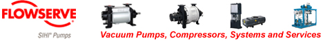 Sterling Sihi liquid ring pumps and systems
