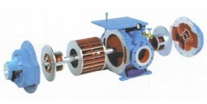 single stage liquid ring vacuum pump